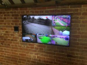 Vardycam CCTV System monitor
